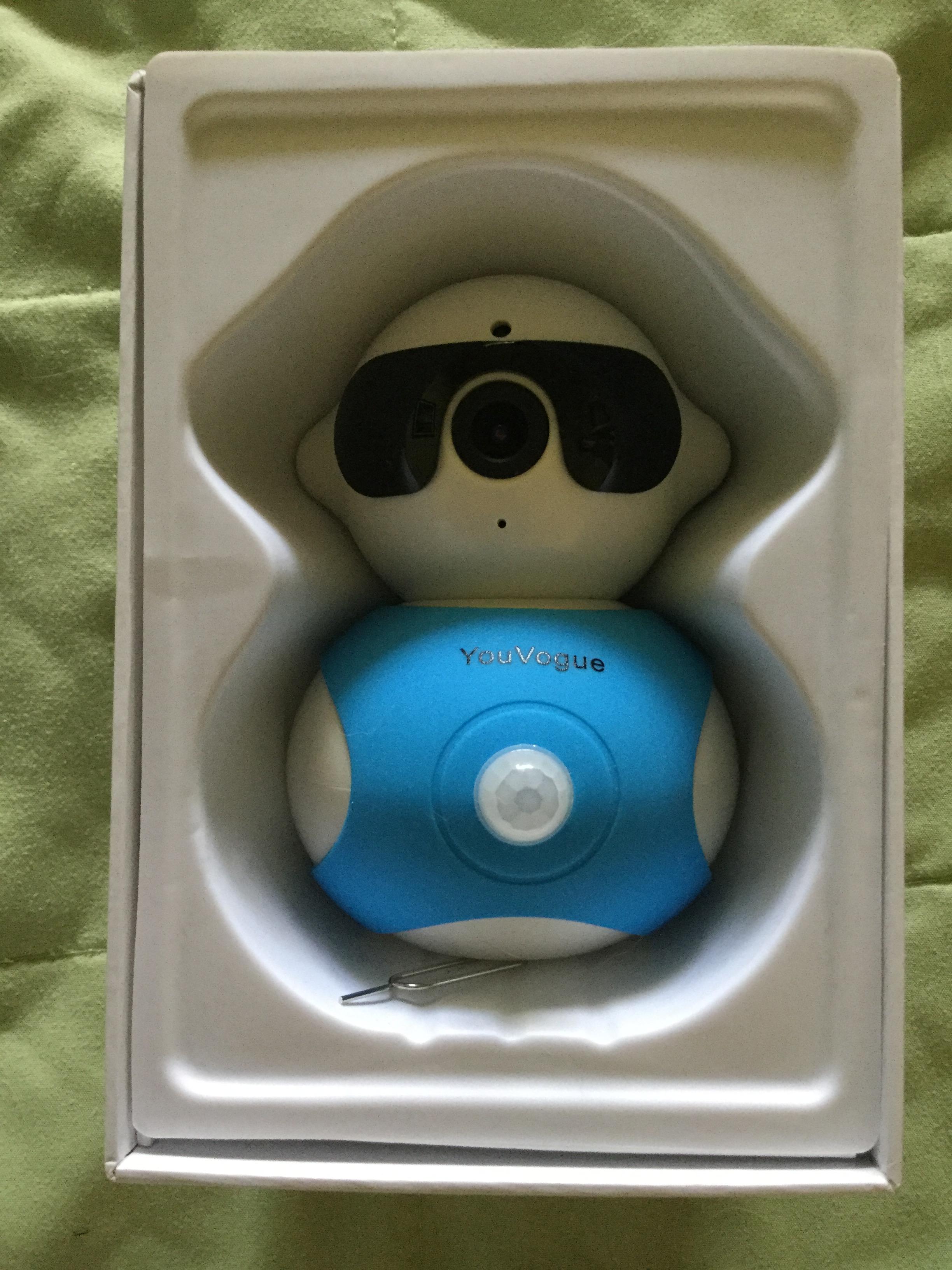 Youvogue Dual Hd 960p Wireless Ip Camera And Robot Shape